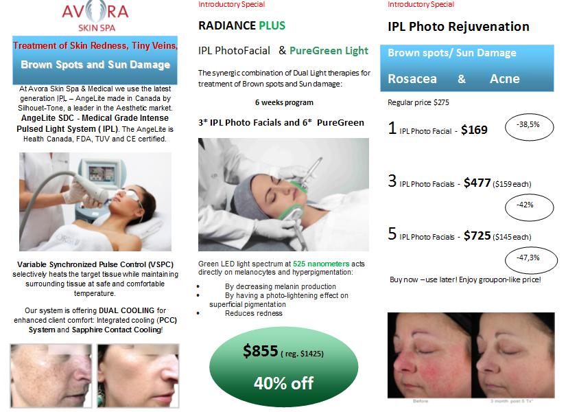 IPL radiance plus offer