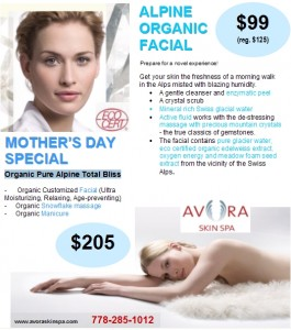 Mother's Day Spa Special, Coquitlam