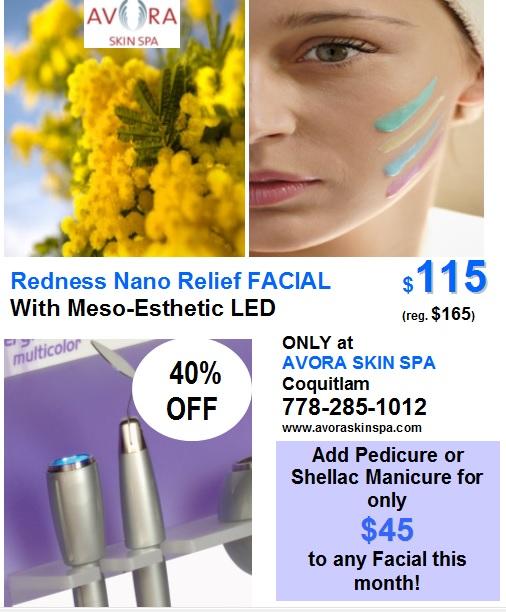 rosacea treatment facial