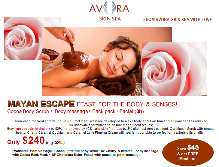 Valentine's Day Spa Special Coquitlam