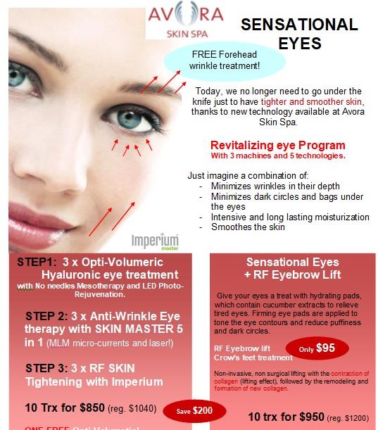 eye zone anti-wrinkle program