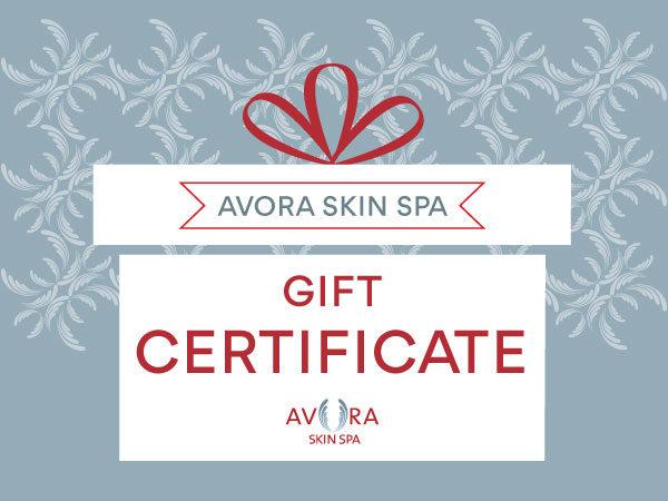 Avora Skin Spa Gift Certificate